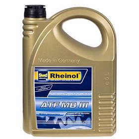 Трансмиссионное масло Rheinol, ATF DX III G, 5л (ATF DX III G)