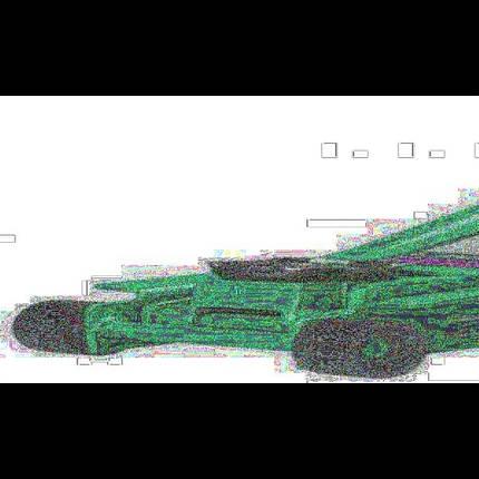 Домкрат гидравлавлический подкатной ДП-300028 3т, фото 2