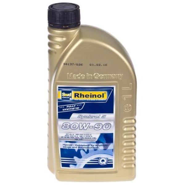 Трансмиссионное масло Rheinol, Synkrol 5, 80W-90, 1л (5 80W-90)