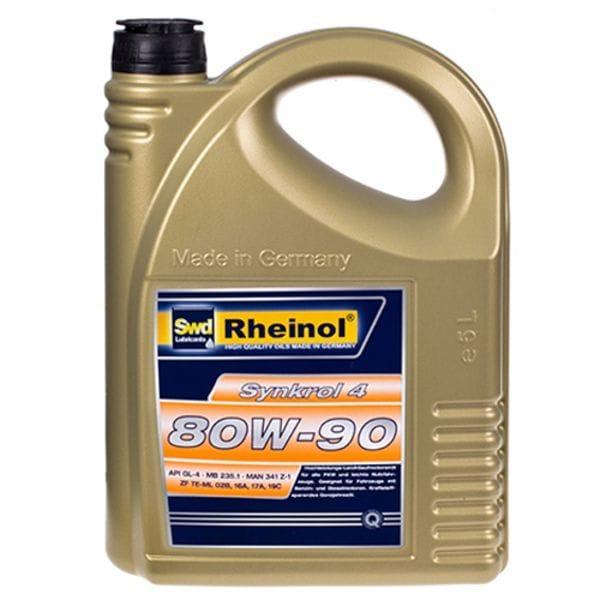 Трансмиссионное масло Rheinol Synkrol 4, 80W-90, 5л (4 80W-90)