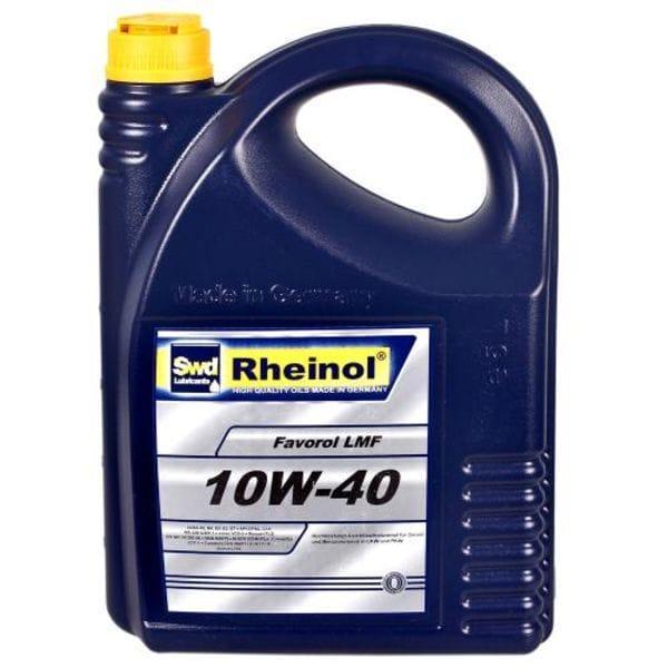 Моторное масло Rheinol, Favorol LMF SHPD, 10W-40, 5л (LMF SHPD 10W-40)