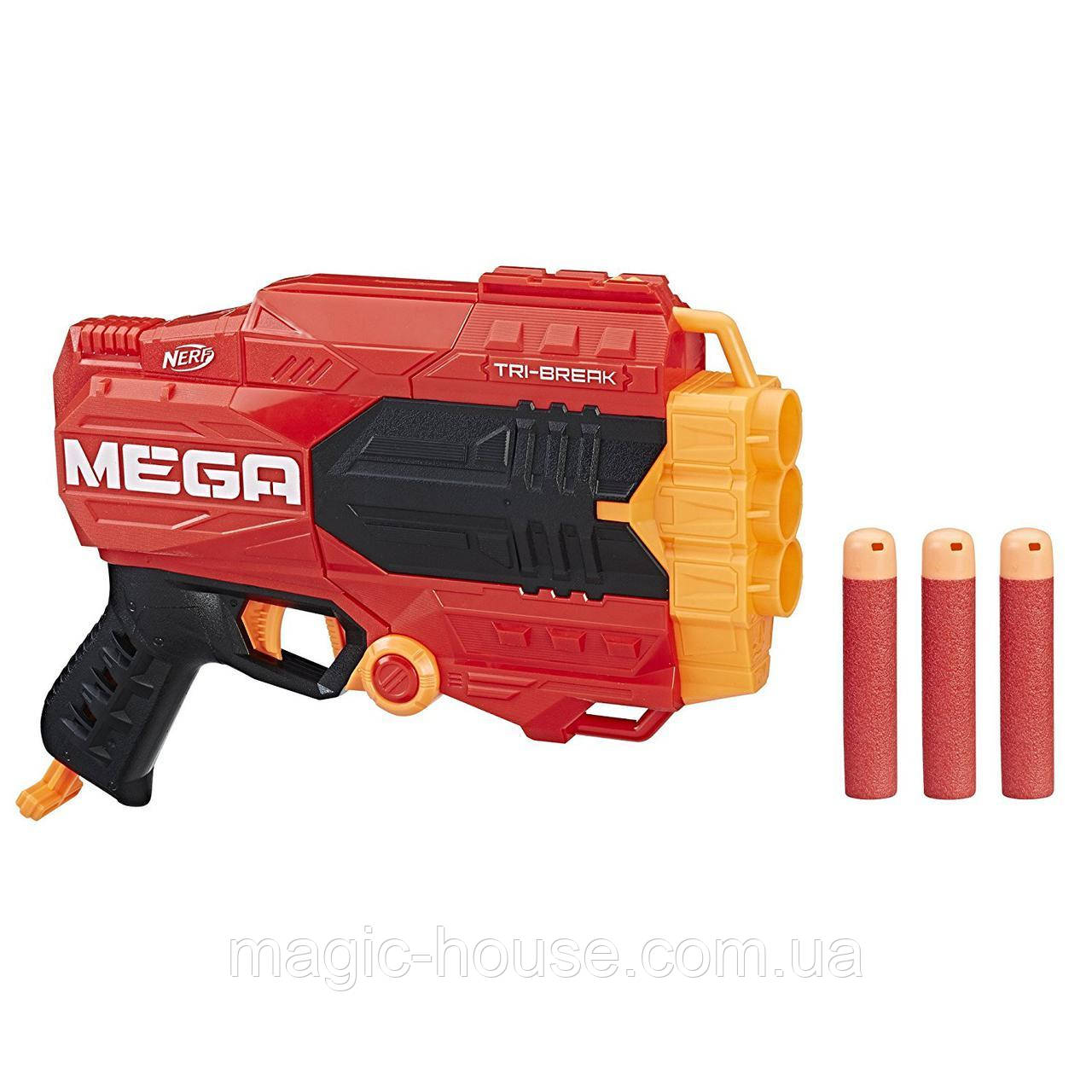Бластер Nerf Мега Три-Брейк N-Strike Mega Tri-Break