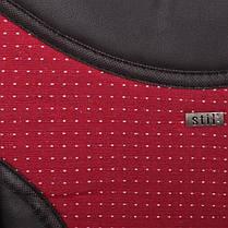 """Набор чехлов """"AutoOks"""" 2+1 BUS красные вставки (STIL), фото 3"""