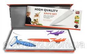 Набір Ножів 2 Шт High Qvality Knife Set І Овощечистка