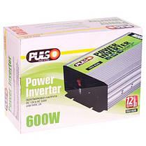 Преобраз. напряжения PULSO/ISU-620/12V-220V/600W/USB-5VDC2.0A/син.волна/клеммы (ISU-620), фото 2