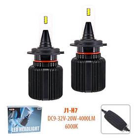 Лампы PULSO J1/H7/LED-chips CPS/9-32v20w/4000Lm/6000K (J1-H7)
