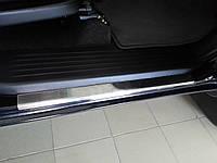 Toyota Hilux Накладки на пороги Carmos 4шт нерж