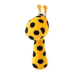 ИКЕА (IKEA) KLAPPA, 003.650.33, Погремушка, разноцветный, желтый - ТОП ПРОДАЖ