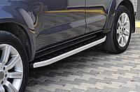 Toyota Fortuner Боковые площадки Fullmond 2 шт алюм