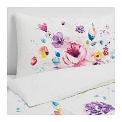 ИКЕА (IKEA) LIVSBLAD, 504.483.85, Комплект постельного белья, цветок, 150x200/50x60 см
