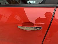 Chevrolet Epica накладки на ручки Узкие Омса
