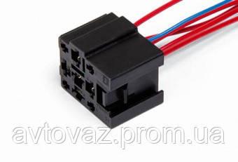 Разъем реле стеклоочистителя 5 контактного ВАЗ 2110, 2111, 2112 с проводами