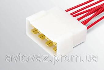 Разъем межжгутовой 8 контактный серии 6,3 с проводами штыревой