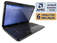 Ноутбук HP Pavilion G6-2201sr 15.6 (1366x768) / AMD A6-4400M (2x max3.2GHz) /Radeon 7520G/RAM 4Gb/ HDD 500Gb / АКБ 32Wh / Сост. 9/10 БУ