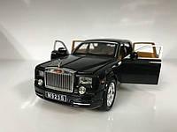 Коллекционная машинка Rolls Royce Phantom металл 1:24, фото 1