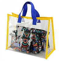 Прозрачная сумка + набор косметичек Traum арт. 7241-33
