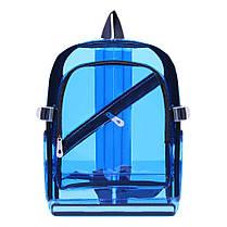 Великий прозорий силіконовий рюкзак, фото 3