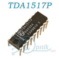TDA1517P, двухканальный аудиоусилитель, 2 х 6Вт, DIP18