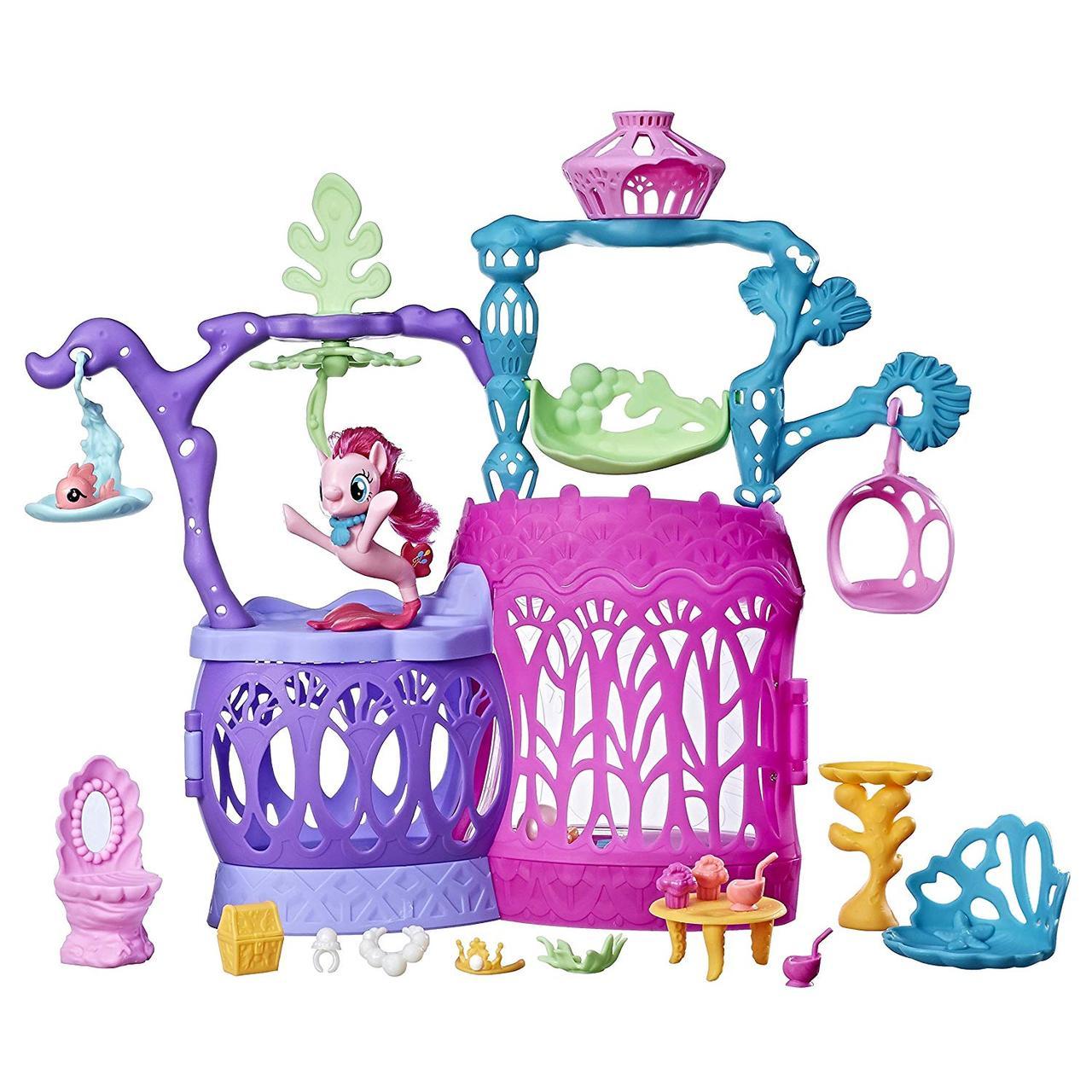 Игровой набор My Little pony замок Мерцание с Пинки Пай