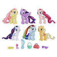 Набор Май Литл Пони из 6 фигурок пони My Little Pony 6 Celebration Set