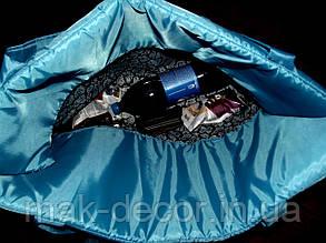 Пляжна Сумка для відпочинку розкладна на блискавці(синя) 140х67х2 см