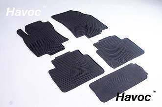 Оригинальные коврики для Nissan X-Trail T32 с 2014 HAVOC резиновые в салон полный комплект