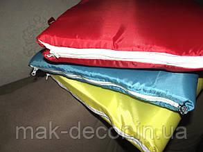 Сумка для відпочинку розкладна на блискавці (червона) 140х67х2 см