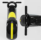 Каталка-толокар Т 1477 Cosmo-байк (чёрно-жёлтый, подсветка), фото 2