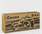 Каталка-толокар Т 1477 Cosmo-байк (чёрно-жёлтый, подсветка), фото 4