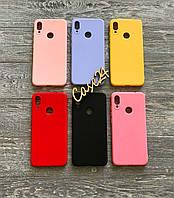 TPU чехол накладка Candy для Xiaomi Redmi Note 7 (6 цветов)