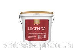 Краска для стен и потолков Kolorit Legenda, 4.5л