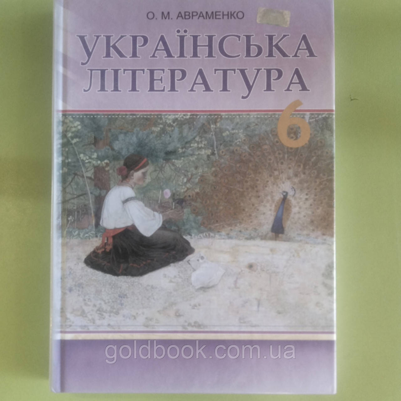 Українська література 6 клас підручник