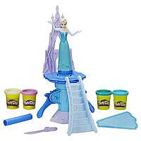 Игровой набор Play-Doh Ледяной замок Эльзы Frozen Ice Palace Elsa