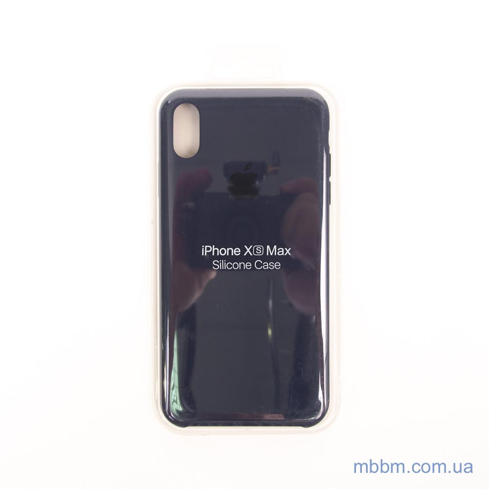 Apple iPhone Xs Max midnight blue Для телефона Чехол