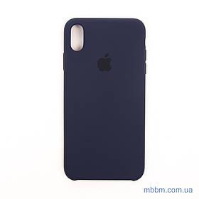 """Накладка Apple iPhone Xs Max {6.5 """"} midnight blue [копія]"""