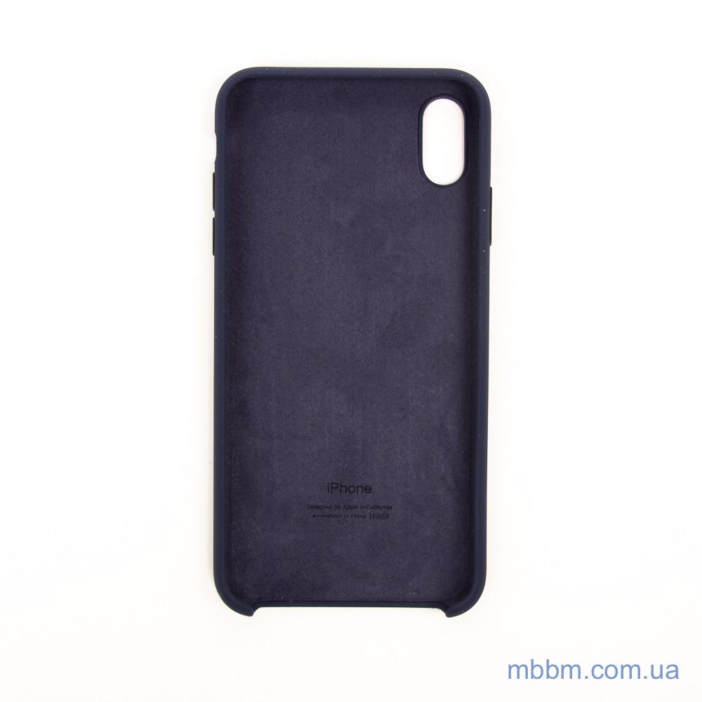 Накладка Apple iPhone Xs Max midnight blue Для телефона