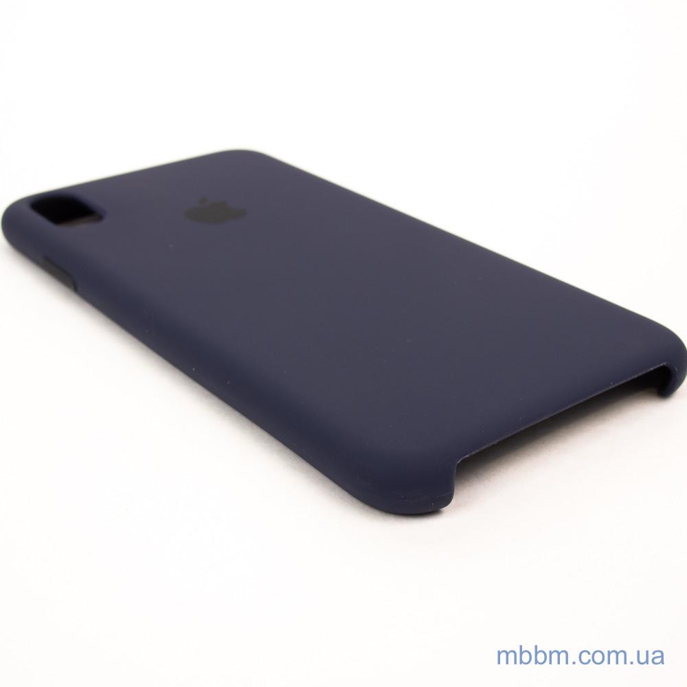 Накладка Apple iPhone Xs Max midnight blue Для телефона Чехол