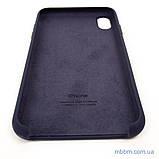 """Накладка Apple iPhone Xs Max {6.5""""} midnight blue [копия], фото 9"""