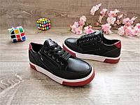 Стильные кеды-туфли для мальчика размеры 34-35