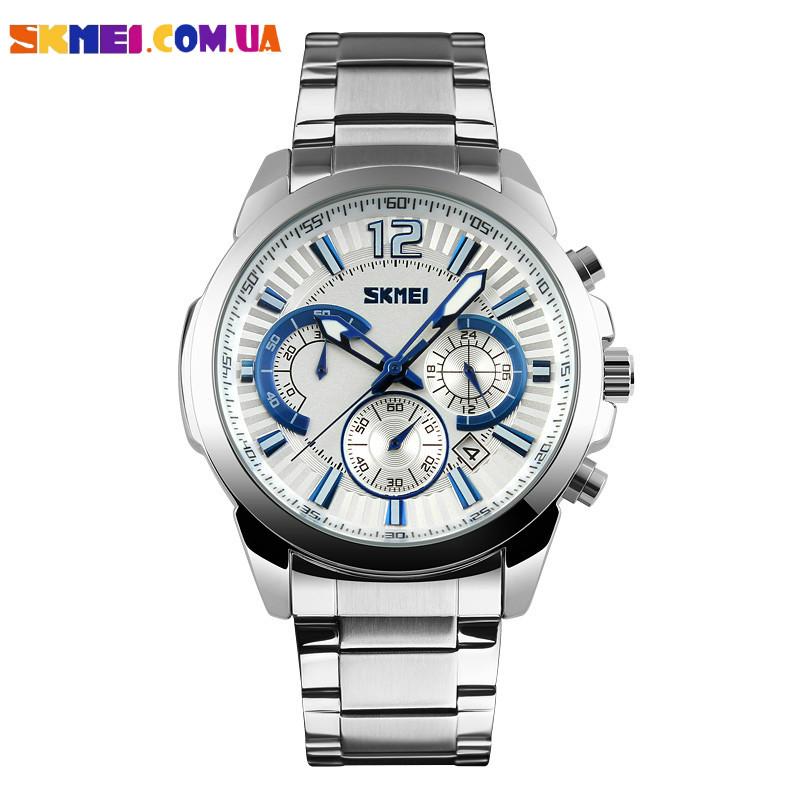 Чоловічі наручні годинники SKMEI 9108 (Blue)