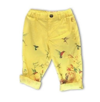 Детские брюки для девочки Pezzo D'oro Италия M53031 Желтый