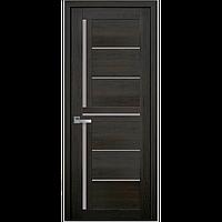 Дверь межкомнатная Диана дуб мускат 900 мм со стеклом сатин (матовое), ПВХ Ультра.