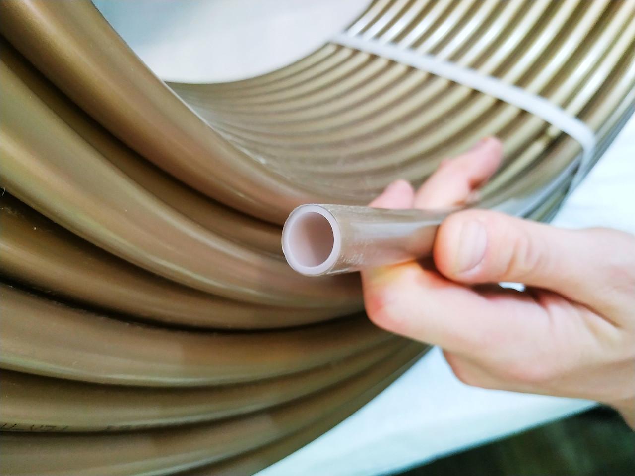 """Труба для теплої підлоги """"Ferolli"""" (Італія) Ø 16мм. З кисневим бар'єром. Товщина стінки 2мм"""