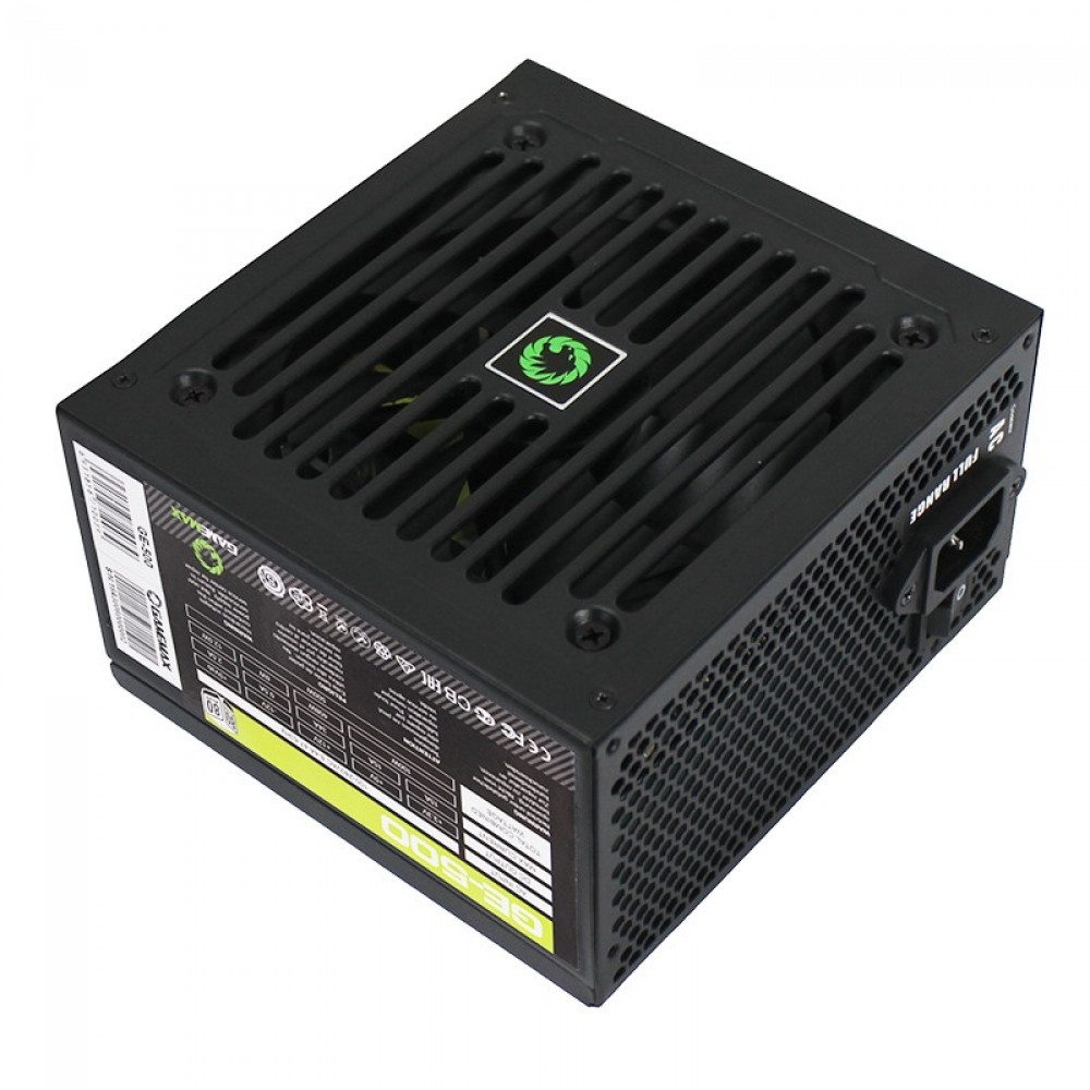 "Блок питания GameMax GE-500 500W 80+ ""Over-Stock"""