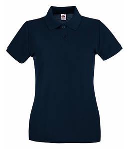 Женская тенниска поло XS, Глубокий Темно-Синий