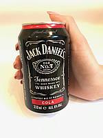 Напиток виски кола Jack Daniel's & Cola 330 ml