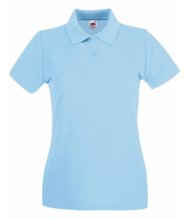 Женская тенниска поло XL, Небесно-Голубой