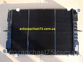 Радиатор Газель, медно-латунный, 3-х рядный, с ушами , производитель завод Оренбургский радиатор, Россия