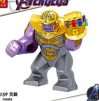 Большая фигурка Танос лего 7-9 см конструктор аналог Лего