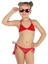 Детский купальник для девочки Arina Италия GM131603 Красный
